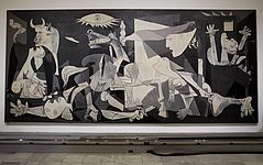 Pablo Picasso Guernica, Foto vom 21. Februar 2012 von Paul White, picture alliance / ASSOCIATED PRESS