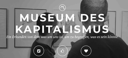 Screenshot von der Website des Museums