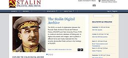 Screenshot des Stalin Digital Archive