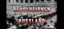 "Screenshot des Lehrfilms ""Revolutionen in Russland 1900 - 1924"""