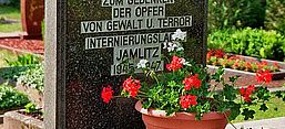 Gedenkstein Speziallager Jamlitz, By J.-H. Janßen (Own work) [GFDL (http://www.gnu.org/copyleft/fdl.html) or CC BY-SA 3.0 (http://creativecommons.org/licenses/by-sa/3.0)], via Wikimedia Commons