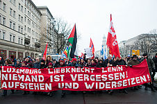 Gedenkdemonstration in Berlin am 10. Januar 2016, picture alliance / dpa
