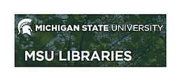 Logo der MSU Libraries, Screenshot von der Website