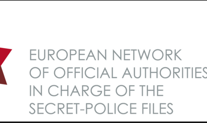 Logo des European Network of Official Authorities in Charge of the Secret Police Files